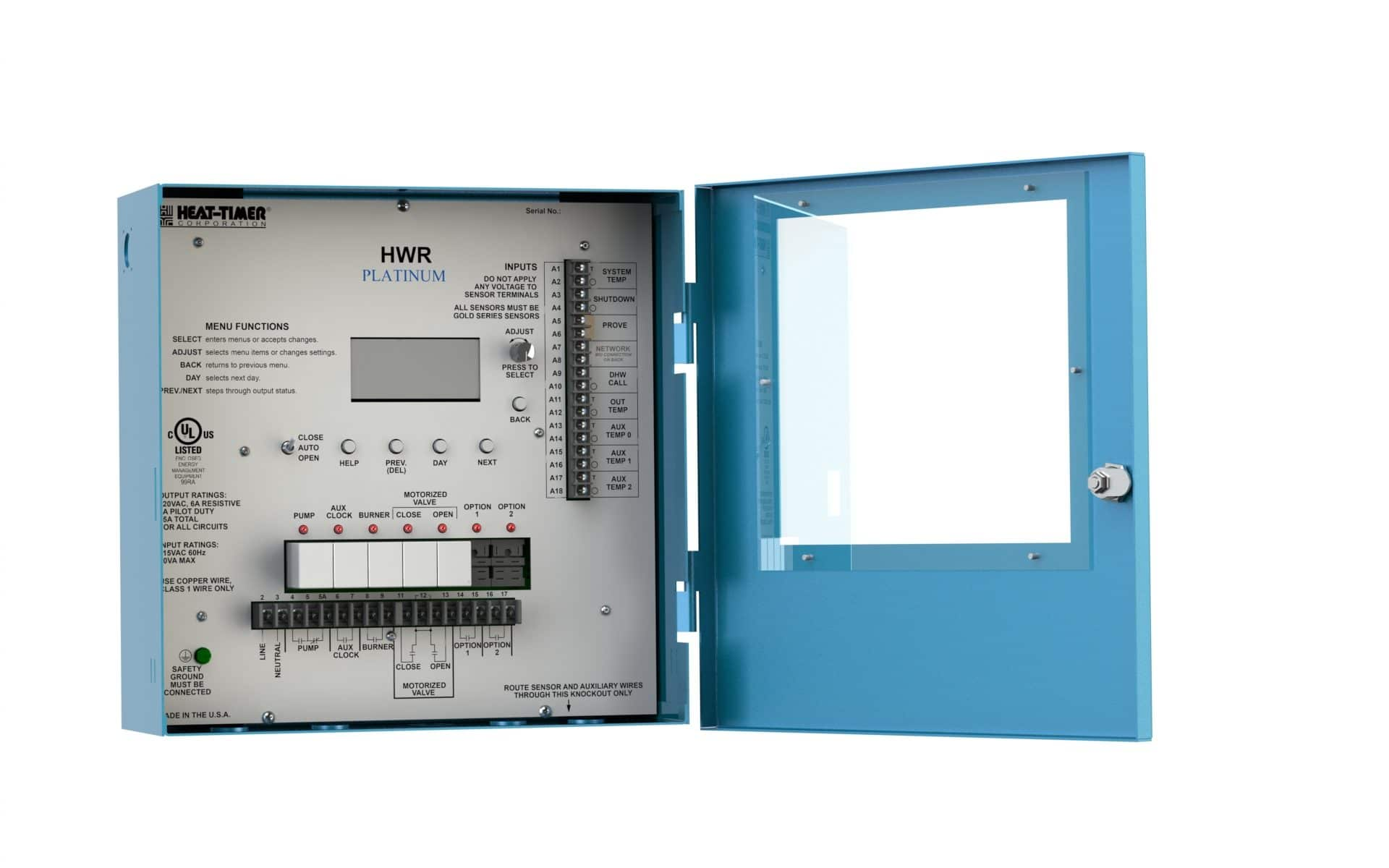 Heat Timer's Platinum Series Heating Control System