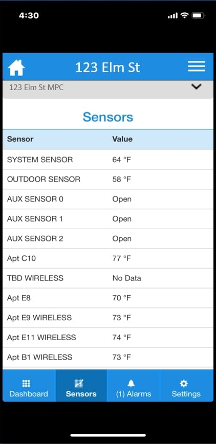Heat Timer Mobile App - 3